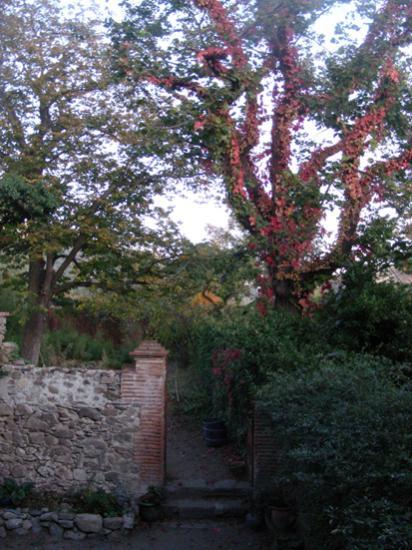 entrée jardin