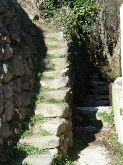 L'escalier du lavoir