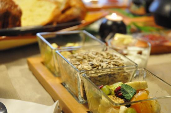salade de fruits frais et graines