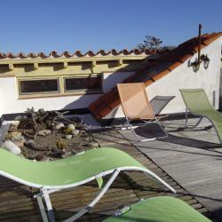 le toit-terrasse avec vue à 360°