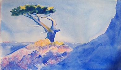 Anne-Marie HAGE, peintre aquarelliste